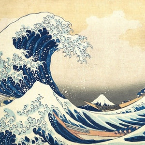 Hokusai's Great Wave Children's Art Workshop - Dot Kids Ltd
