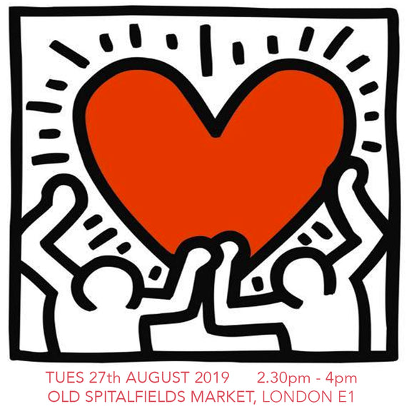 Design a Keith Haring T-shirt - Children's Workshop - Old Spitalfields Market, London E1