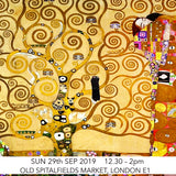 Klimt Tree Of Life Children's Art Workshop: Fam East, Old Spitalfields Market, London