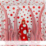 Yayoi Kusama Children's Art Workshop - Old Spitalfields Market, London E1