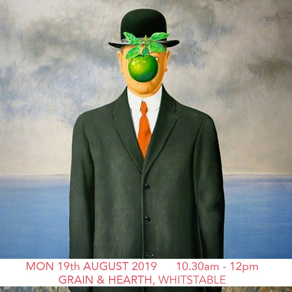 Magritte Children's Art Workshop - Grain & Hearth Bakery, Whitstable