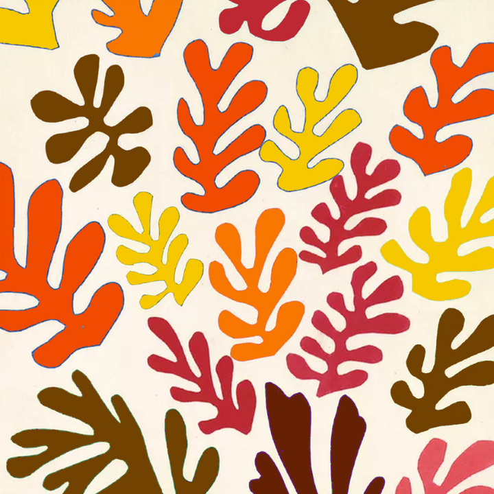 Matisse Autumn Cut-Outs Art Inspiration Workshop For Children: HALF TERM LIVE ONLINE!