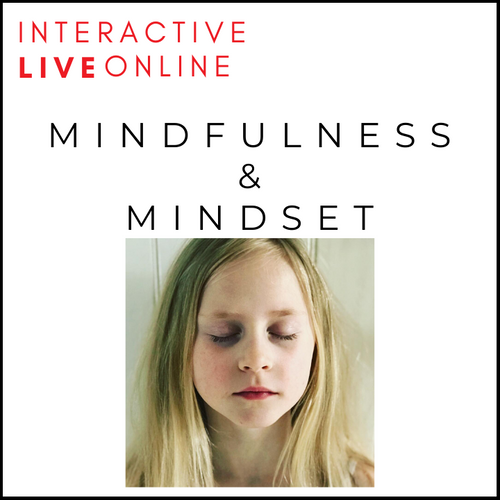 Mindfulness & Mindset Live Online Sessions For Children