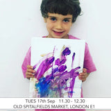 Pre-School Art Club: Six Week Term: Old Spitalfields Market, London E1