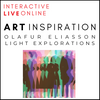 INTERACTIVE LIVE ONLINE! Olafur Eliasson Art Inspiration Workshop For Children