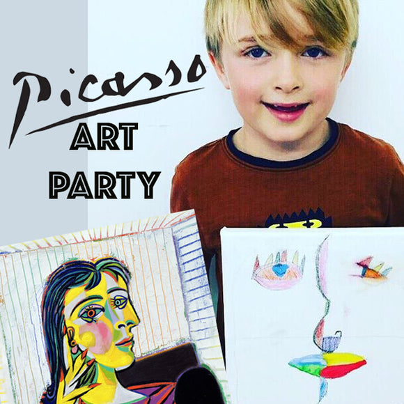 Picasso Cubist Children's Art Party