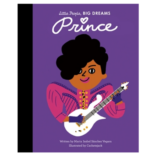 Prince - Little People, Big Dreams Hardback Book