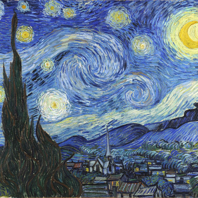 ART LIVE ONLINE! Van Gogh's Starry Night Online Art Workshop For Children