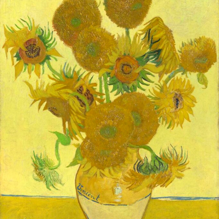 Van Gogh's Sunflowers Children's Art Workshop