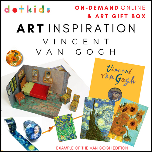 Art Inspiration Gift Box & On-Demand Workshop: Vincent Van Gogh