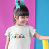 Viva La Frida - Frida Kahlo Children's T-Shirt - White - Dot Kids Ltd