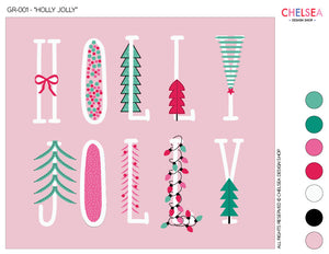 "GR-001 - ""HOLLY JOLLY"" - GRAPHICS FOR LICENSE"