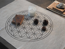 Load image into Gallery viewer, Flower Of Life Alttariliina/Altar Cloth