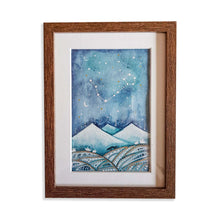 Load image into Gallery viewer, Personalised Cosmic Watercolour Painting