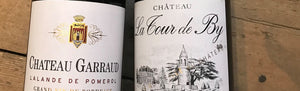 EN PRIMEUR OFFER ON TWO OUTSTANDING BORDEAUX CHATEAUX 2018 VINTAGE