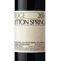 Zinfandel Lytton Springs