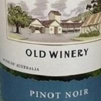 Old Winery Pinot Noir Tyrrell's Winery 2018