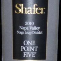 One Point Five Cabernet Sauvignon 2010, Shafer