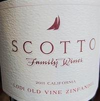 Scotto Family Vineyards Old Vine Zinfandel 2017