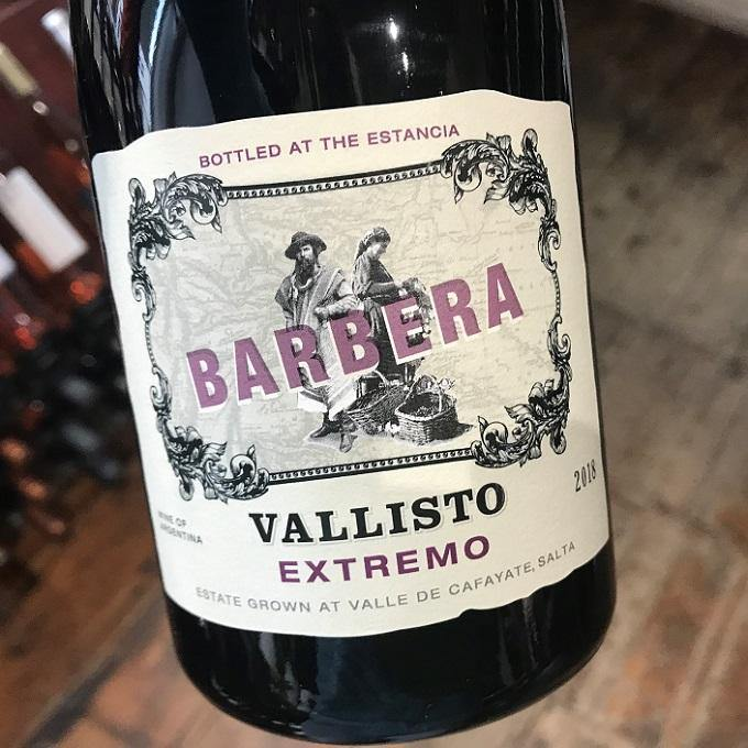 Barbera Vallisto 2018