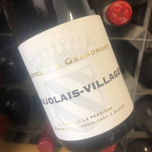 Half Bottle: Beaujolais Villages 2017 Chateau de Grandmont