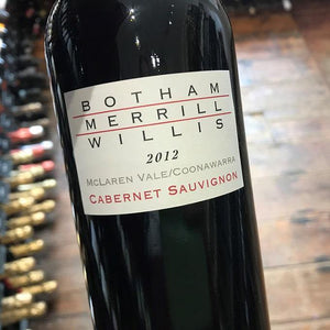 BMW Cabernet Sauvignon 2012, Botham Merrill Willis, South Australia