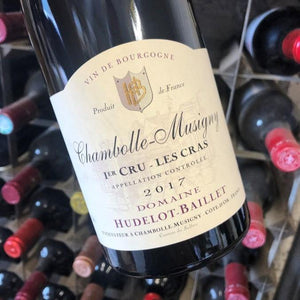 Chambolle Musigny Les Cras 2017 Domaine Hudelot-Baillet