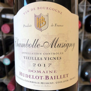 Chambolle-Musigny Vieilles Vignes 2017, Domaine Hudelot-Baillet