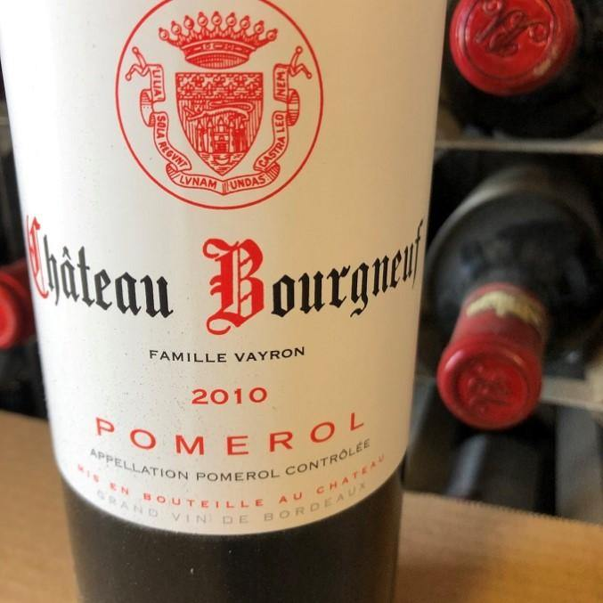 Chateau Bourgneuf-Vayron 2010