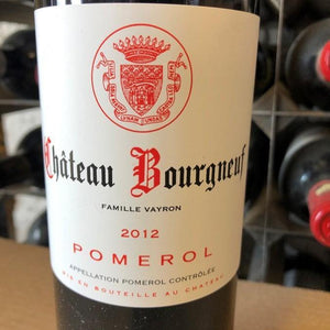 Chateau Bourgneuf-Vayron 2012, Pomerol