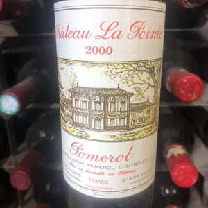 Half Bottle: Chateau La Pointe 2000