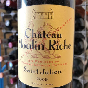 Chateau Moulin-Riche 2009
