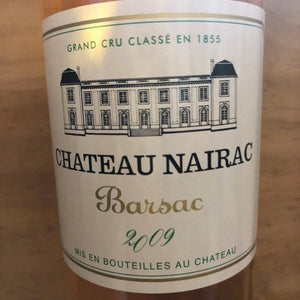 Half Bottle: Chateau Nairac 2009
