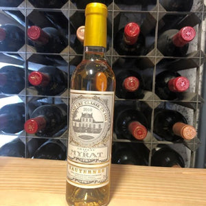 Half Bottle: Chateau de Myrat 2010