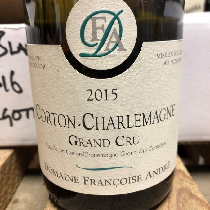 Corton Charlemagne 2015, Domaine Francoise Andre