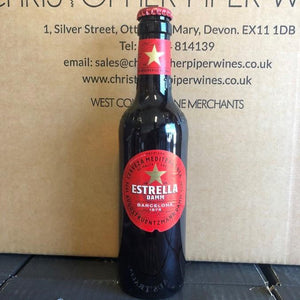33cl Estrella Red Label