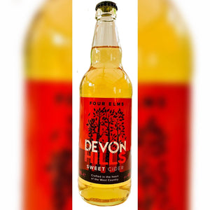 500ml Devon Hills Sweet Cider 4.8% Four Elms