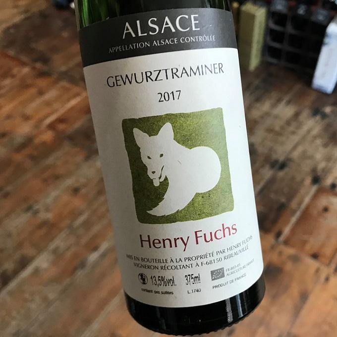 Half Bottle: Gewurztraminer 2017, Domaine Fuchs