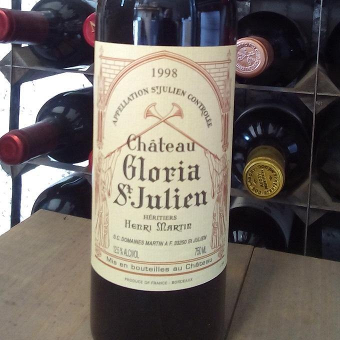 Chateau Gloria 1998, St Julien
