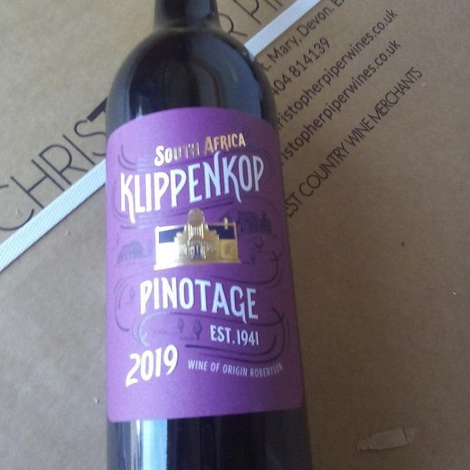 Klippenkop Pinotage 2019, Western Cape, South Africa