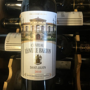 Half Bottle: Chateau Leoville Barton 2010, St Julien