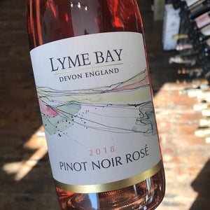 Lyme Bay Pinot Noir Rose 2018