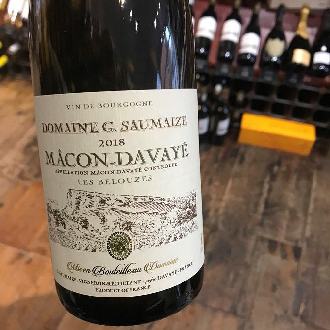 Half Bottle: Macon Blanc Davaye 2018 Maillettes