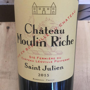 Chateau Moulin-Riche 2015