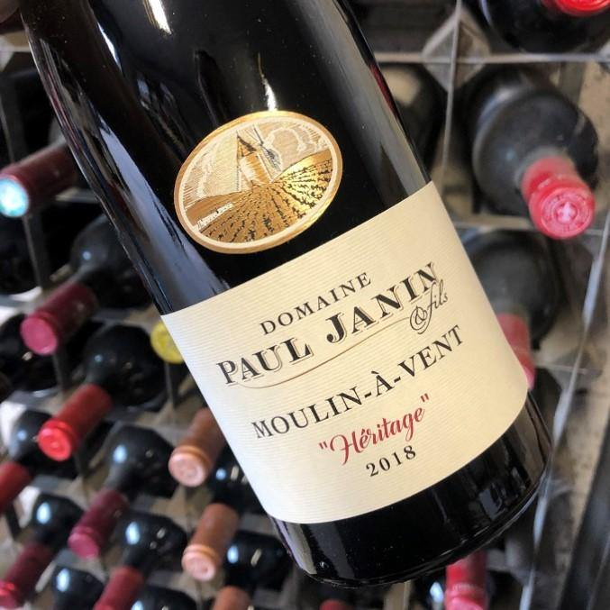 Moulin A Vent, Heritage 2018, Domaine Paul Janin