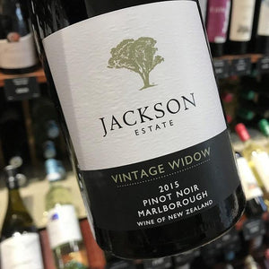 Pinot Noir 'Vintage Widow' 2016, Jackson Estate