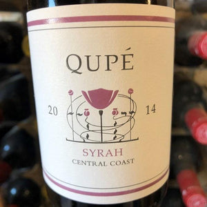 Half Bottle: Qupe Syrah 2014