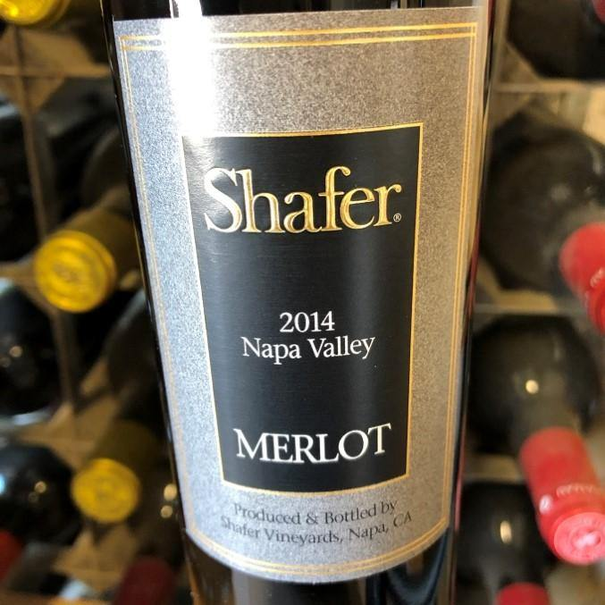 Half Bottle: Merlot 2014 Shafer Vineyard