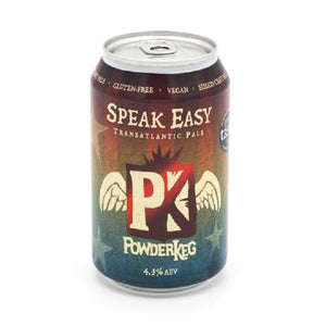 330Ml: Powderkeg Speak Easy Beer 4.3% Abv