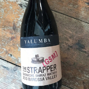 The Strapper 2013,  Grenache Shiraz Mataro, Yalumba